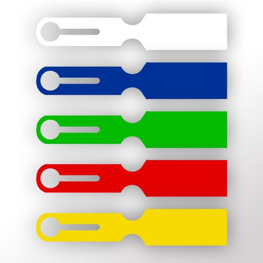 Siebkorbanhänger aus Kunststoff