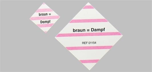 Einlegekarte für Instrumentensiebe
