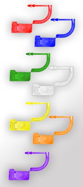 Verschlusssiegel aus Kunststoff