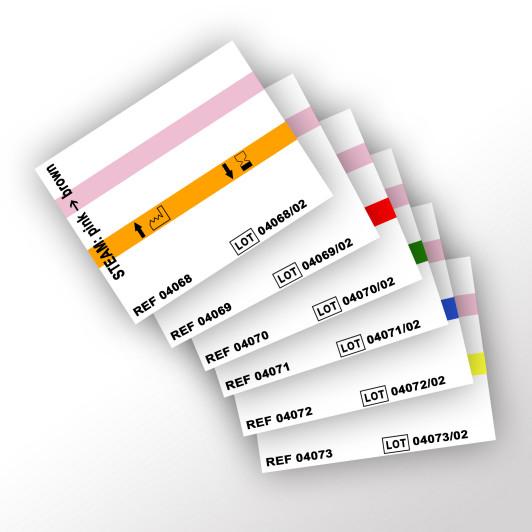 METO-Einzeletiketten auf Rolle für Etikettiergerät IL 04019