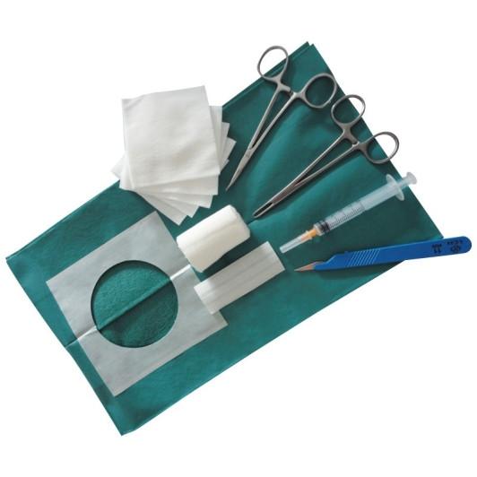 Set zur subkutanen Implantat-Entnahme, steril verpackt