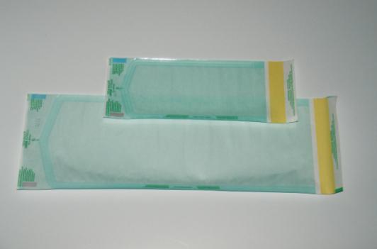 Klarsichtbeutel, selbstklebend - ohne Seitenfalte - mit Dampf-, Ethylenoxid- und Formaldehydindikato